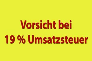 Vorsicht bei 19 % Umsatzsteuer auf Nutzungsrechte